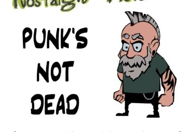 Nostalgic Distortion | Punk's Not Dead | Cover Art