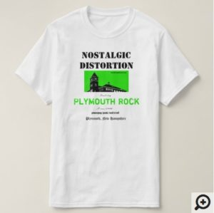 NostalgicDistortion.com | Store | Plymouth Rock Tee